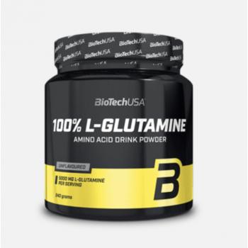 100% L - Glutamine 240 gr