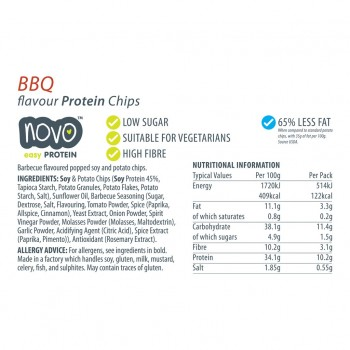 Protein Chips - BBQ