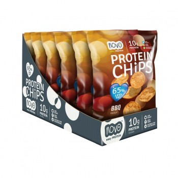 Protein Chips - BBQ - caja...