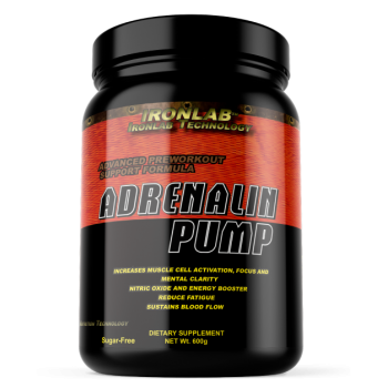 ADRENALIN PUMP 600gr Limón