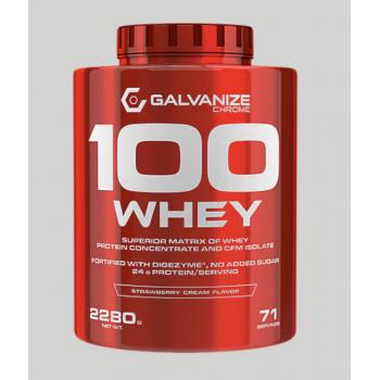 100 WHEY 2,268kg - Vainilla