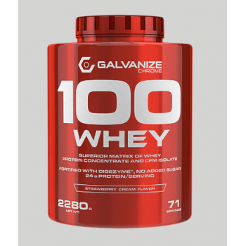 100 WHEY 2,268kg - Chocolate