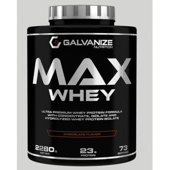 MAX WHEY 2,268kg - chocolate